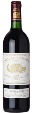 Château Margaux, Margaux, 1er Cru Classé, Bordeaux, 1990
