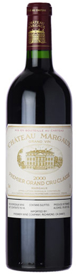 Château Margaux, Margaux, 1er Cru Classé, Bordeaux, 2000