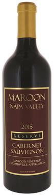 Maroon, Reserve Cabernet Sauvignon, Napa Valley
