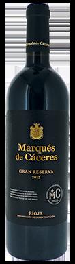 Marqués de Cáceres, Gran Reserva, Rioja, 2012