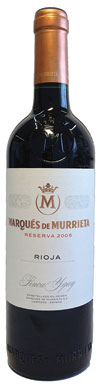 Marques de Murrieta, Reserva, Rioja, Mainland Spain, 2005