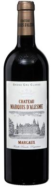 Château Marquis d'Alesme, Margaux, 3ème Cru Classé, 2018