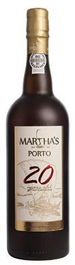 Martha's, Port, 20 Year Old Tawny, Douro, Portugal