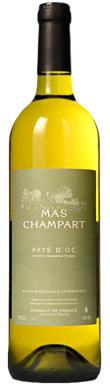 Mas Champart, Blanc, Pays d'Oc, Languedoc-Roussillon, 2017
