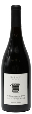 McEvoy Ranch, The Evening Standard Pinot Noir, Sonoma