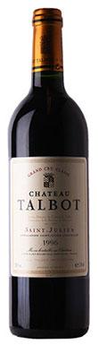 Château Talbot, St-Julien, 4ème Cru Classé, 1996