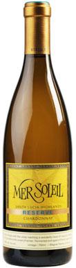 Mer Soleil, Reserve Chardonnay, Monterey County, Santa Lucia