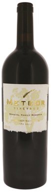 Meteor Vineyard, Special Family Reserve Cabernet Sauvignon