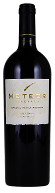 Meteor Vineyard, Special Family Reserve, Napa Valley
