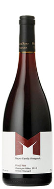 Meyer Family Vineyards, Reimer Vineyard Pinot Noir, Okanagan