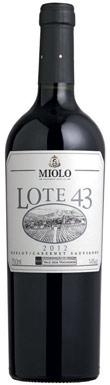 Miolo, Lote 43 Merlot-Cabernet Sauvignon, Serra Gaúcha, Vale