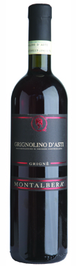 Montalbera, Grignè, Grignolino d'Asti, Piedmont, Italy, 2012
