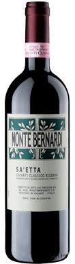 Monte Bernardi, Sa'etta Riserva, Chianti, Classico, 2015