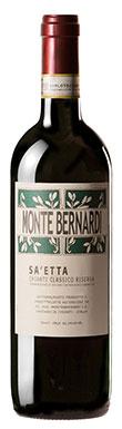 Monte Bernardi, Sa'etta, Chianti, Classico, Tuscany, 2016