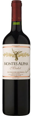 Montes, Alpha Merlot, Colchagua Valley, Chile, 2013