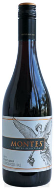 Montes, Limited Selection Pinot Noir, Aconcagua Valley, 2015