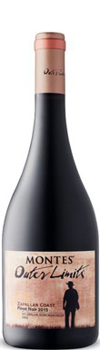 Montes, Zapallar, Outer Limits Pinot Noir, 2015