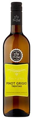 Morrisons, The Best Pinot Grigio, Trentino-Alto Adige, 2019