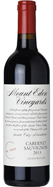 Mount Eden Vineyards, Estate Cabernet Sauvignon, San