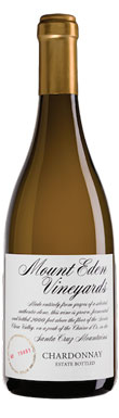 Mount Eden Vineyards, Chardonnay, San Francisco Bay, Santa