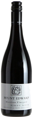 Mount Edward, Morrison Vineyard Pinot Noir, 2017