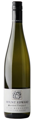 Mount Edward, Morrison Vineyard Riesling, Lowburn Valley