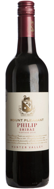 Mount Pleasant, Hunter Valley, Philip Shiraz, 2014