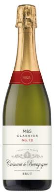 Marks & Spencer, Classics No12, Brut, Crémant de Bourgogne