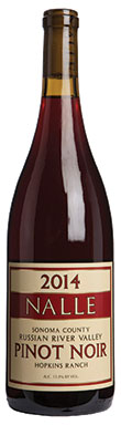 Nalle, Russian River Valley, Hopkins Ranch Pinot Noir, 2014