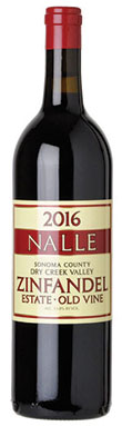 Nalle, Zinfandel, Sonoma County, Dry Creek Valley, 2016