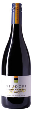 Neudorf, Home Vineyard Pinot Noir, Nelson, New Zealand, 2009