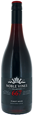 Noble Vines, 667 Pinot Noir, Monterey County, 2018