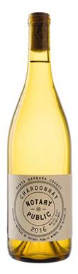 Notary Public, White Hills Vineyard Chardonnay, Santa
