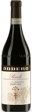 Oddero, Vigna Rionda, Barolo, Serralunga d'Alba, 2007