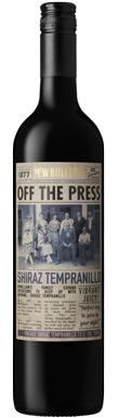 Off the Press, Shiraz Tempranillo, New South Wales, 2017