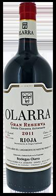 Bodegas Olarra, Gran Reserva, Rioja, Northern Spain, 2011