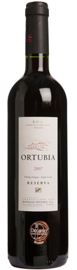 Ortubia, Reserva, Single Estate, Rioja, Mainland Spain, 2007