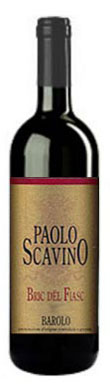 Paolo Scavino, Bric Del Fiasc, Barolo, Piedmont, Italy, 2008