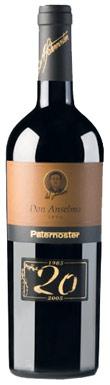 Paternoster, Don Anselmo, Aglianico del Vulture, 2010