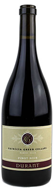 Patricia Green, Durant Vineyard, Bishop Block Pinot Noir