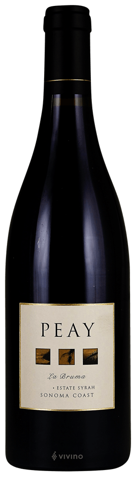 Peay Vineyards, La Bruma Syrah, Sonoma County, Sonoma Coast