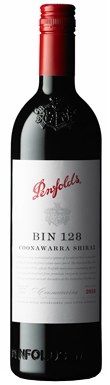 Penfolds, Bin 128 Shiraz, Coonawarra, South Australia, 2018