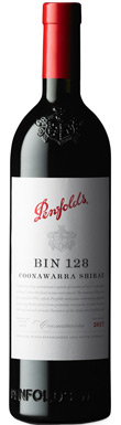Penfolds, Bin 128 Shiraz, Coonawarra, South Australia, 2017