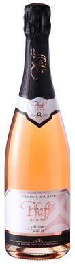 Pfaff, Extra Brut Rosé, Crémant d'Alsace