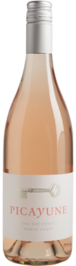 Picayune Cellars, Mendocino County, Rosé, California, 2016