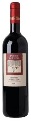 Podere la Vigna, Brunello di Montalcino, Tuscany, 2007