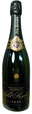 Pol Roger, Extra Cuvée de Reserve, Champagne, France, 1996