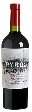 Pyros Wines, Single Vineyard Malbec, Pedernal Valley, 2013