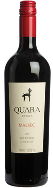 Quara, Estate Malbec, Cafayate Valley, Salta, 2017