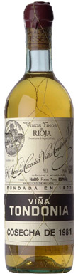 R. López de Heredia, Rioja, Blanco 6° Año, Rioja, 1964
